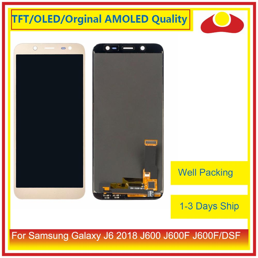 "Image 2 - ORIGINAL 5.6"" For Samsung Galaxy J6 2018 J600 J600F J600FN LCD Display With Touch Screen Digitizer Panel Pantalla Complete-in Mobile Phone LCD Screens from Cellphones & Telecommunications"