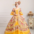 18th Century Theater Style Marie Antoinette Inspired Ball Gown