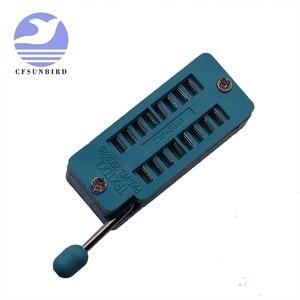 Image 3 - M328 متعددة الأغراض الترانزستور تستر ديود المقاوم ESR السعة مقياس قدرة دائرة التوالي المحمولة عنصر جديد