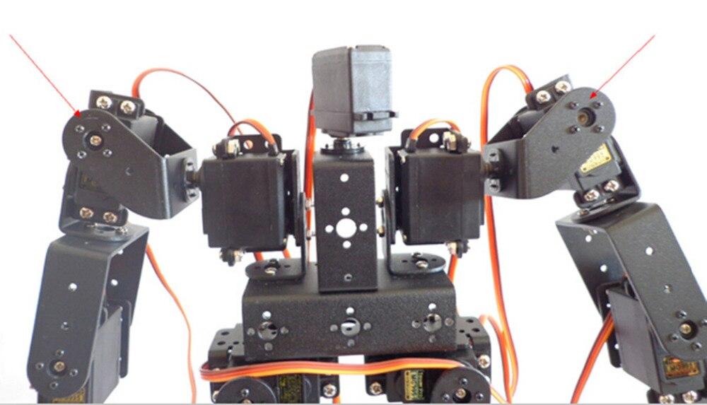 17dof biped robotico robo educacional robos humanoides 04