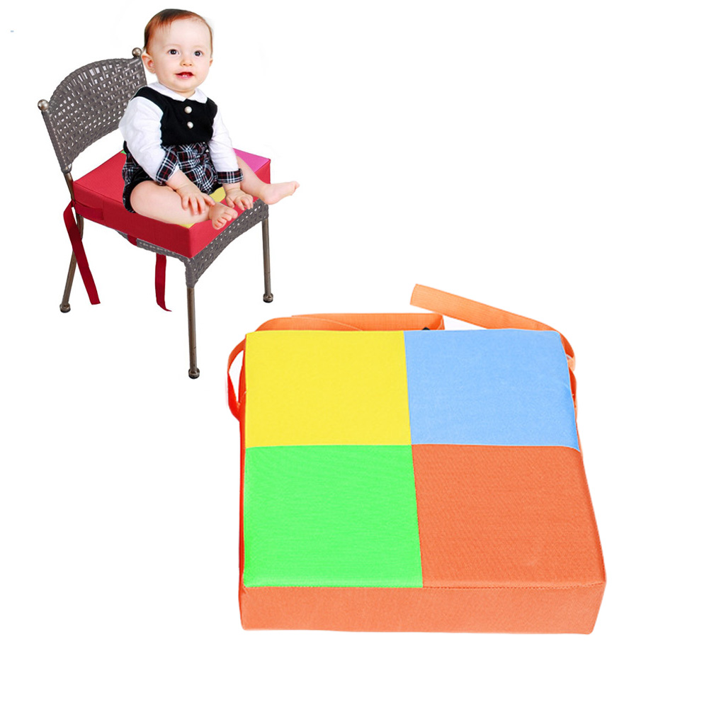 2018 New Baby Kids Chair Booster Cushion Highchair Increase Height Seat Pad Chair Mat Supplies
