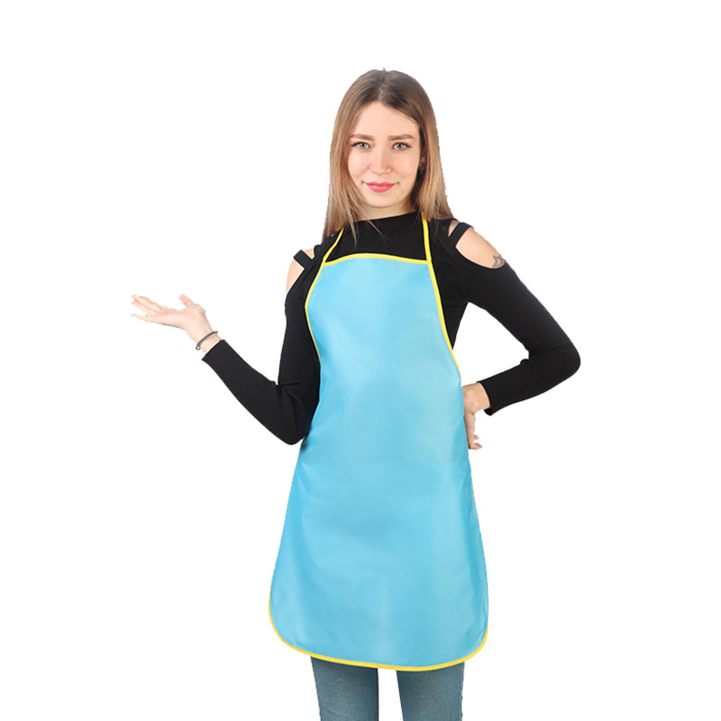 Women/'s Apron Home House Kitchen Chef Butcher Restaurant Cooking Baking Rosy B1