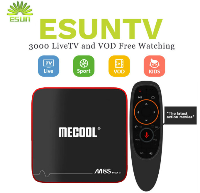 1 Year IPTV in M8S PRO W Voice Control System Android 7.1 IPTV Box 2/16G Germany Netherlands Spain Portugal Albania Italian XXX italy iptv a95x pro voice control with 1 year box 2g 16g italy iptv epg 4000 live vod configured europe albania ex yu xxx