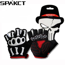 SPAKCT Summer Cycling Gloves Mtb Bicycle Bike Gloves Galf Finger Glove Pad Breathable accessories Skeleton