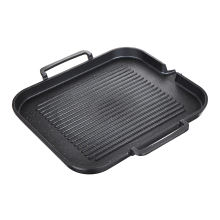 Kitchen Non-Stick Cooking Grill Pan Griddle Steak Frying Pan Aluminum Alloy BBQ Grill Pan Camping Picnic Cookware Cooking Tools
