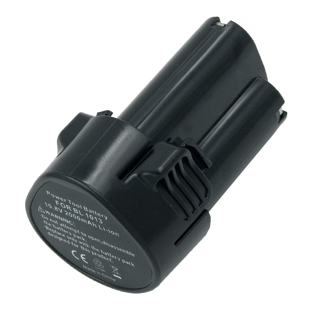 Replacement Rechargeable Lithium Ion Power Tools Battery for Makita 10.8V BL1013 BL1014 2000mAh 2.0 Ah 194550-6 194551-4
