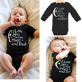 One piece Girls Boys Rompers Baby Clothes Newborn Letter Printed Short Sleeve Babies Romper Jumpsuits Infant Summer Playsuits