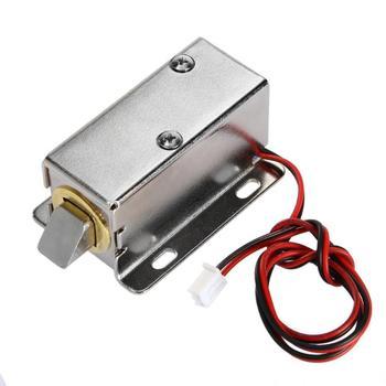 Cerradura electrónica inteligente DC 12V Control de acceso RFID Invisible para puerta del cajón de armario cerradura inteligente para cajón privado