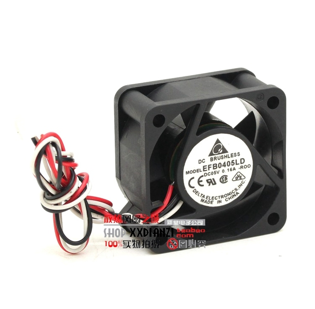 EFB0405LD-ROO 4020 5V 0.16A 4cm dual ball switch server fan