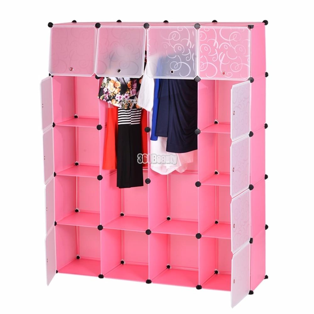Homdox 20 Cube Fashion Multifunctional Storage Cabinet Clothing Wardrobe Closet Storage Organizer Wardrobe Clothes Rack  N2023 цены онлайн