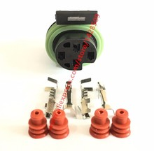 20 Sets Delphi 4 Pin Metri Pack 150 Sealed Female Electrical Connector 12065298 Oxygen Sensor Plug