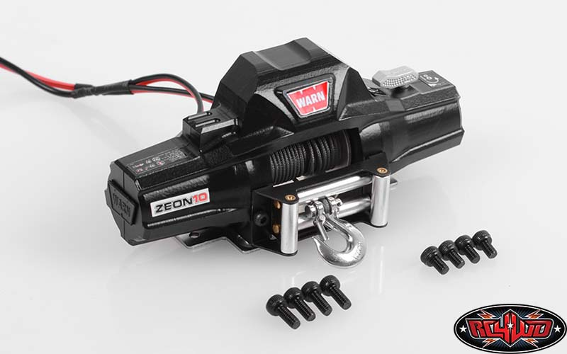 RC4WD 1/8 Warn Zeon 10 Winch Double Power For Simulation Climbing Car Model (Z-E0069)