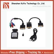 Kuyifree доставка Высокое качество Mini HDMI VGA/HDMI к разъему YPbPr адаптер для ТВ или проектора с компонентным видео или ПК