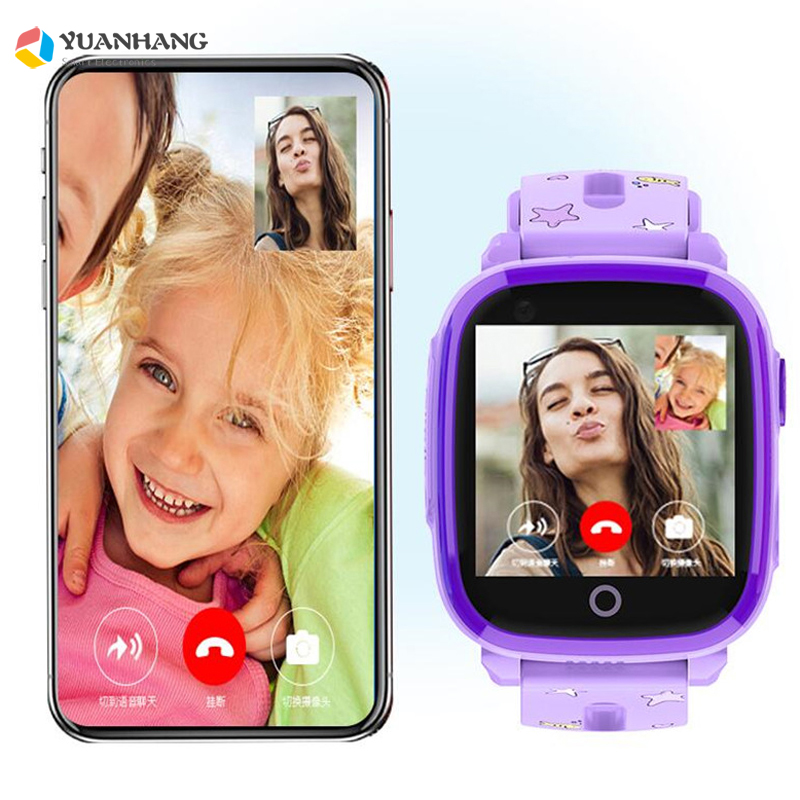 IP67 étanche Smart 4G caméra à distance GPS WI-FI enfants enfants étudiants montre-bracelet SOS appel vidéo moniteur Tracker localisation montre