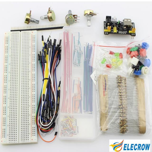 Raspberry Pi Kit de Piezas Genéricas para Arduino Elecrow Piezas Universales