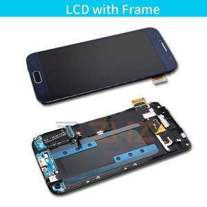 Image 3 - Lcd ekran için samsung galaxy s6 lcd ekran dokunmatik ekran digitizer için çerçeve ile G920 G920f için samsung s6 lcd tamir parçaları