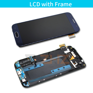 Image 3 - lcd display for samsung galaxy s6 lcd screen display touch digitizer with frame for G920 G920f for samsung s6 lcd repair parts