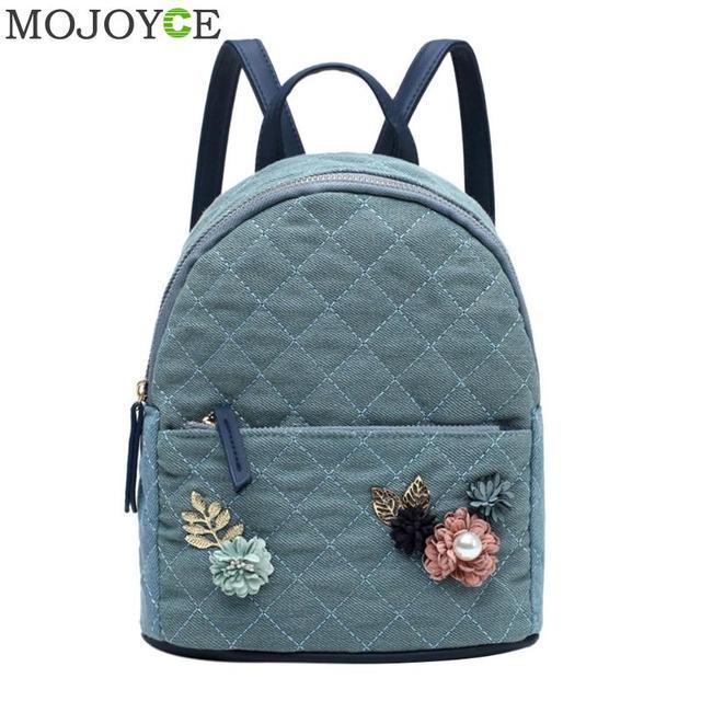 5cd707fb52 Hot Sale Flowers Backpack Fresh Style Backpacks For Teenage Girls School  Bags 2018 New Floral Women