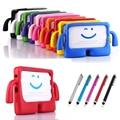 Для Samsung Tab 3 Lite T110 T113 T116 7.0 дюймов Tablet Обложка для Tab3 T210 P3200 TAB 4 T230 T217 3D Дети Детей EVA Silicone Case