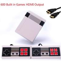 20 шт. HDMI/AV выход с 500/600 играми Мини ТВ семейная игровая консоль 8 бит Ретро видео Классическая игровая консоль DHL EMS