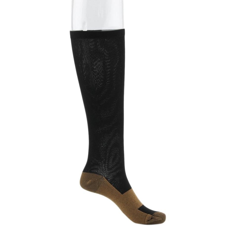 b5f95e5197 Miracle Copper Compression Socks Unisex Anti-Fatigue Compression Socks Foot  Pain Relief Soft Magic ...