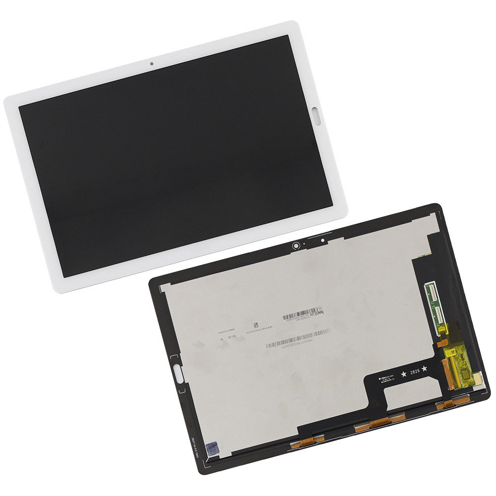 For 10.8 Huawei MediaPad M5 Pro LCD Display Touch Screen Digitizer Assembly Black or white 10p lot a quality for apple iphone 6 lcd display with touch screen digitizer assembly black white lcd free ship oem