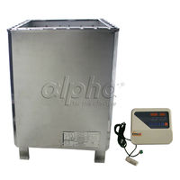 Free shipping12KW220 240 50HZ SUS sauna heater with DIGITAL controller , Promotion on sales, sauna accessories for sauna room
