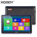 XGODY 7 inch Capacitive Screen Car Truck GPS Navigation 256M 8GB Bluetooth AV-IN FM Navigator 2016 Europe Navitel Russia Maps