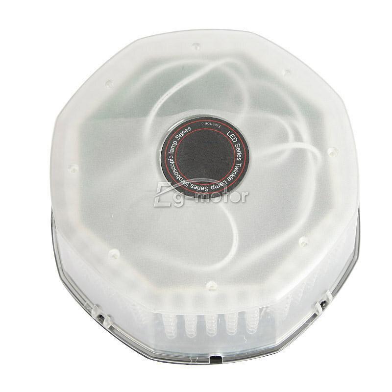 240 LED bākuguns dzintara lampas avārijas brīdinājuma - Auto lukturi