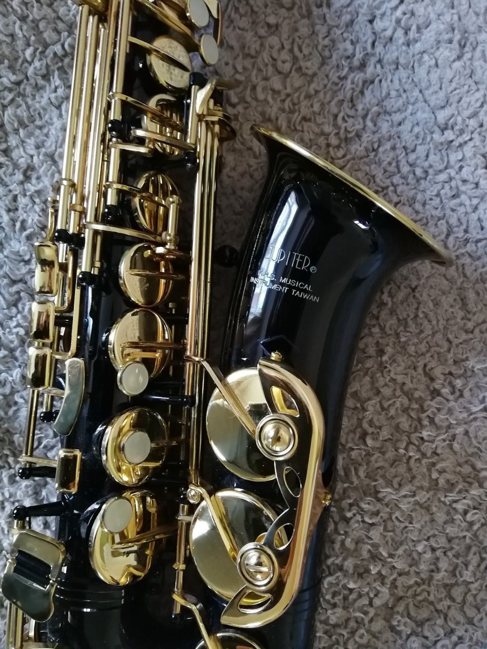 Jupiter JAS 769 767 Alto Eb Tune Saxophone Beautiful Black Nickel Gold Pearl Buttons Musical Instruments For Students With Case
