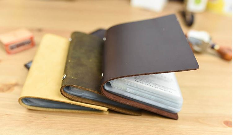 Leather cover pure handmade diy business id name credit card holder leather cover pure handmade diy business id name credit card holder case by handmade first really layer leather can free imprint in card stock from office reheart Choice Image