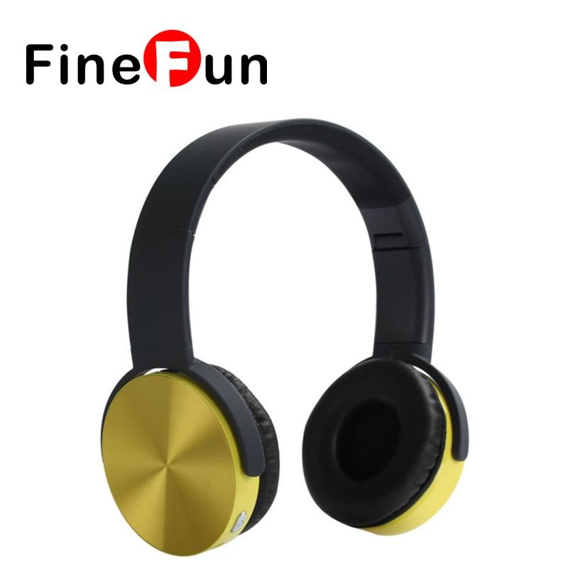 ФОТО FineFun Superior Quality Wireless Bluetooth Foldable V4.1 Stereo Handsfree Headset Microphone Headset Headset with Microphone