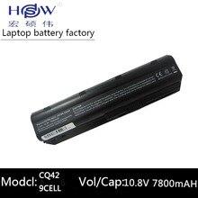 7800MAH 11.1V 6cells battery notebook laptop batteries FOR HP Compaq MU06 MU09 CQ42 CQ32 G62 G72 G42 593553-001 DM4 593554-001 аккумулятор для ноутбука hp cq32 cq42 cq62 cq72 g62 g72 593553 001 593554 001 586028 341 588178 14