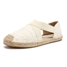Women's Espadrilles Casual Flats Classic Slip-On Comfort Can