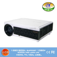 Red-blue 3D Video TV Projector Support 1080P Stereo speaker Karaoke LED LCD Projector with USB 3.0 HDMI Beamer TL98