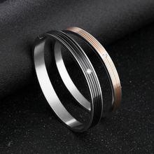 Мужской браслет модный 316l индивидуальная из нержавеющей стали