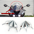 Motorcycle accessories Universal Chrome  Spike Bolts for Windscreen Fairings License Plate
