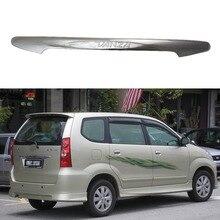 цена на For Toyota F600 F601 AVANZA 2003 2004 2005 2006 20010 2011 High-quality Chrome plated Rear Trunk Lid Cover Trim Car-styling