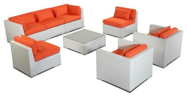 2017 living room furniture outdoor garden patio sofa 8 - 8 piece living room furniture set ...