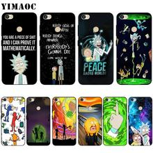 YIMAOC Rick And Morty Silicone Case for Xiaomi