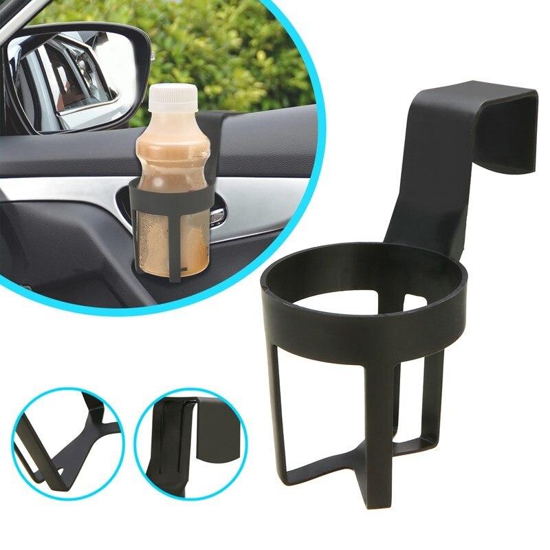 1pcs New Durable Universal Car Truck Plastic Drink Holder Water Cup Bottle Can Bracket Hanger Auto Door Mount Stand Accessories
