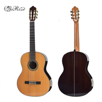 The Rose 36 39 Classical Guitar Rosewood Picea Asperata Wooden Guitar Professional Top Quality Musical Instrument AGT103