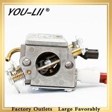 YOULII Carburetor for HUSQVARNA Chainsaw Partner 353 357 357XP 359XP 359 ZAMA C3 EL42 505203001 Mixing Accessories
