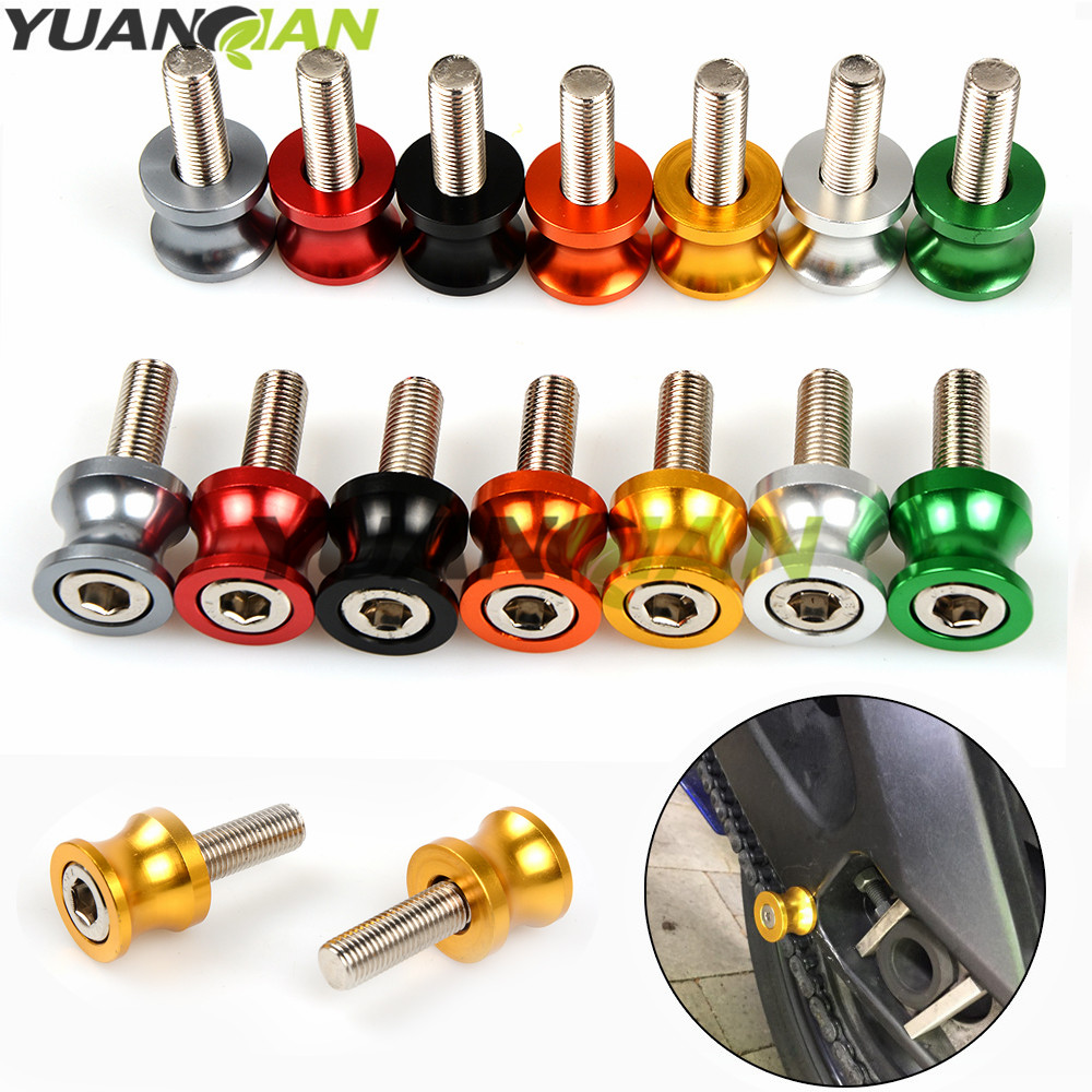Universal Motorcycle CNC Swingarm Spools stand screws Slider For Honda MSX125 MSX300 MSX 125 MSX 300 MSX125 300 PCX 125/150 PCX 2pcs universal motorcycle stand screws cnc swingarm swing sliders spools m6 m8 m10 for yamaha r3 honda crf 450 suzuki gn250