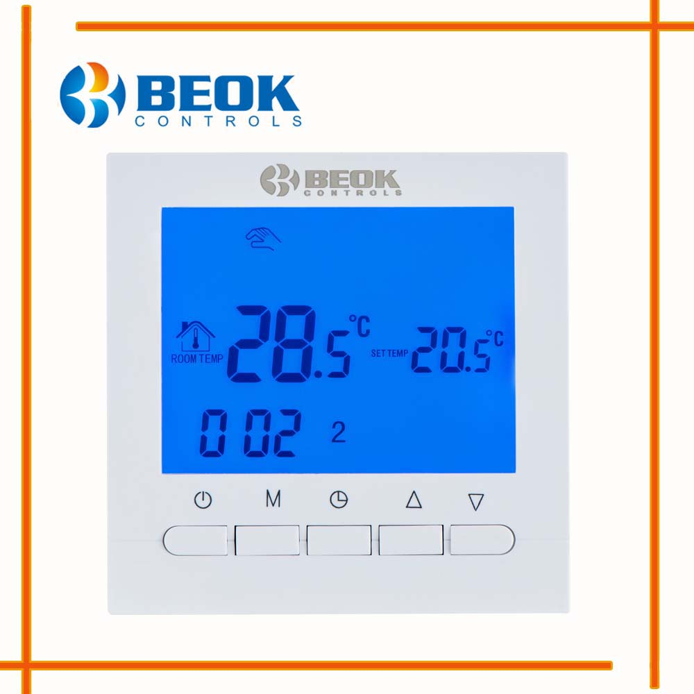 programovatelný digitální termostat