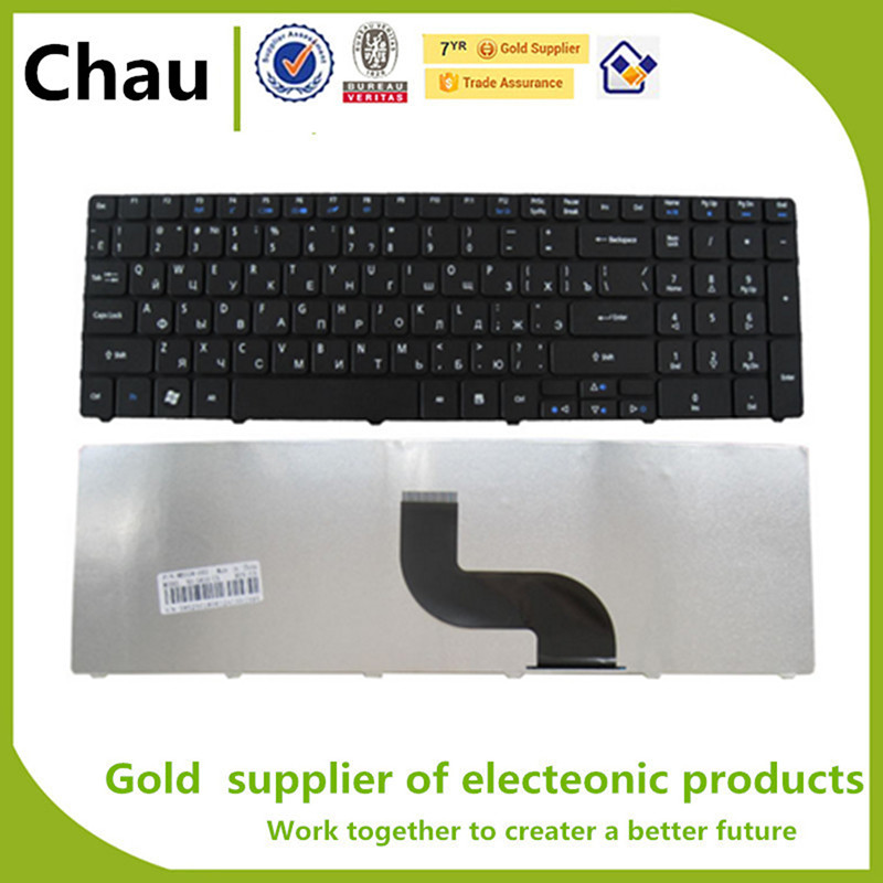 New For Acer Aspire 5742g 5741G 5740 5740G 5740Z 5742 5742Z 5745G 5745 5745P 5800 5250  RU Version Keyboard