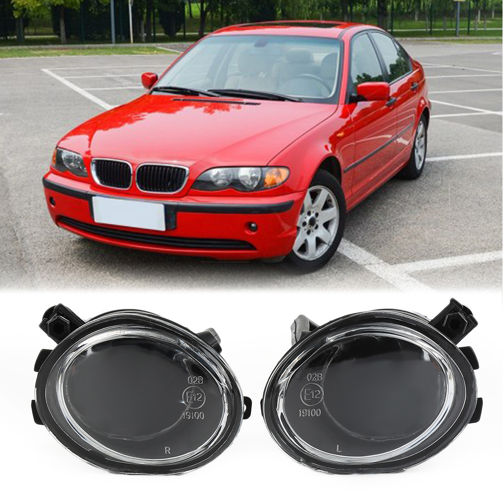 Projector Fog Lights Lamps For BMW 01-06  E39 E46 3-Series 525I 528I 520I 530I