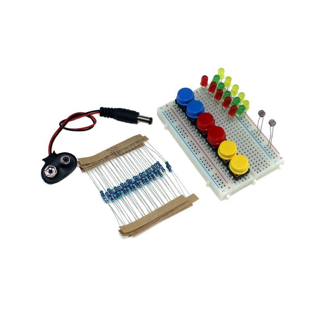 бесплатная доставка ардуино ландзо 13 в 1 комплект новых стартовый комплект оон R3 с мини макет светодиод перемычка для Arduino compatile кнопка для
