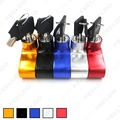 Motorcycle Motorbike Sturdy Wheel Disc Brake Lock Safety Alarm 5-Color for Choice #FD-1350