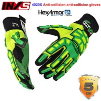 INXS 4020X Mechanical Safety Gloves Collision Avoidance Anti Cut Anti Puncture Protection Gloves Special Operations Gloves